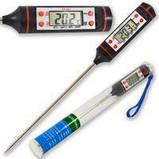"Термометр электронный кухонный со щупом 1.2"" жк -50~300°c tp101, фото 2"