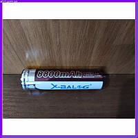 Аккумуляторная батарейка BATTERY 18650 PURPLE (фиолетовый)  набор 4 шт