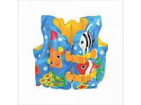 Жилет надувной детский  59661sh с рыбками INTEX