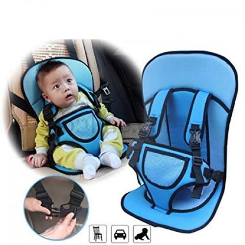 Детское автокресло бескаркасное Multi-Function Car Cushion (голубое) 9 мес-4г