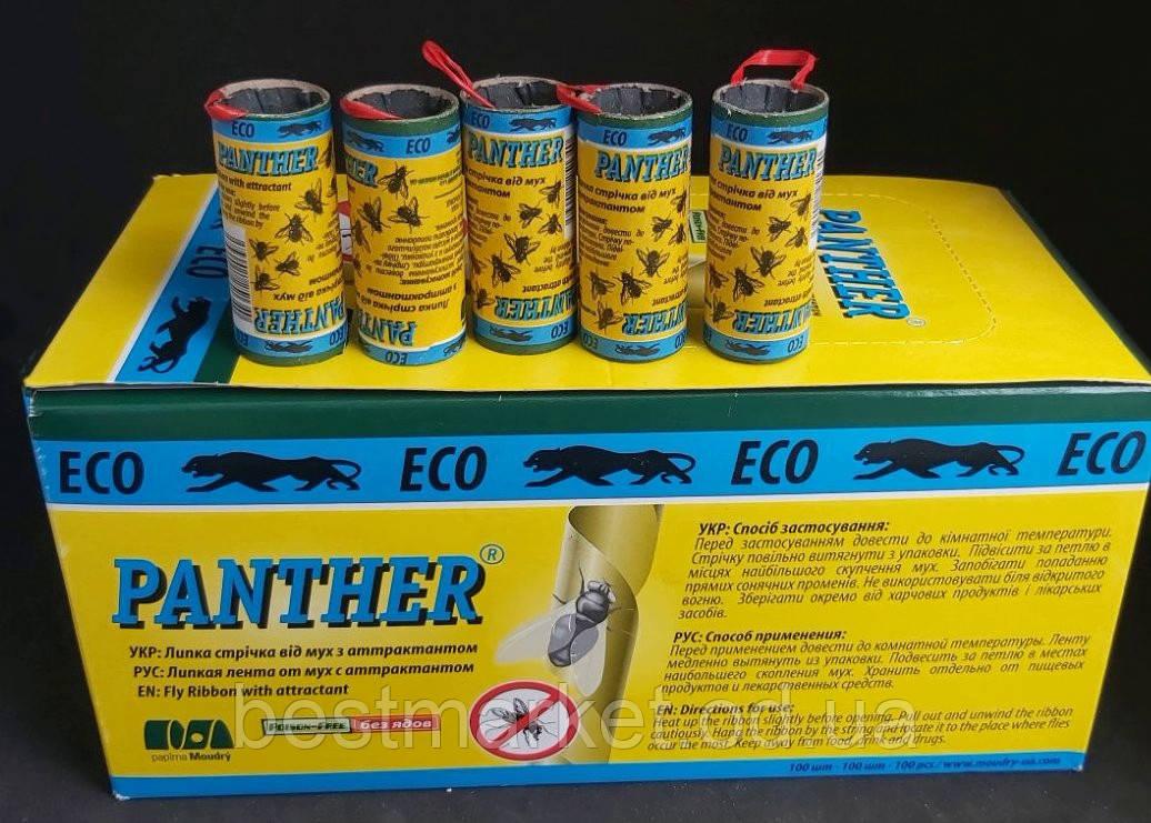 Липка Стрічка від Мух Panther в Упаковці 100 штук