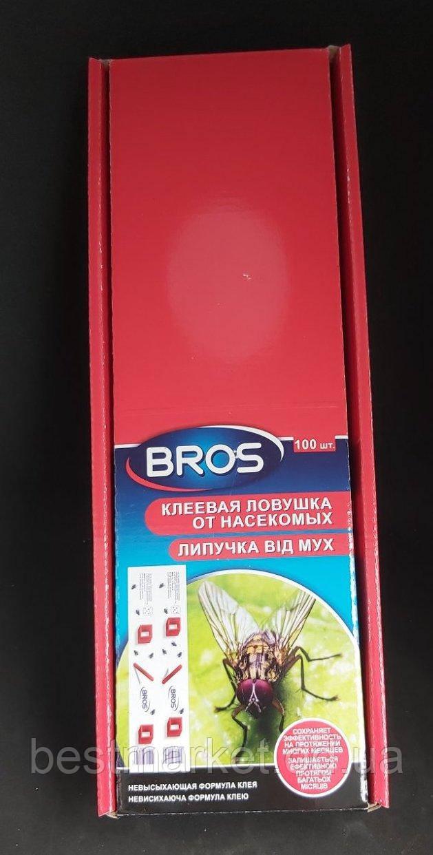 Липка Стрічка від Мух Плоска Bros в Упаковці 100 штук