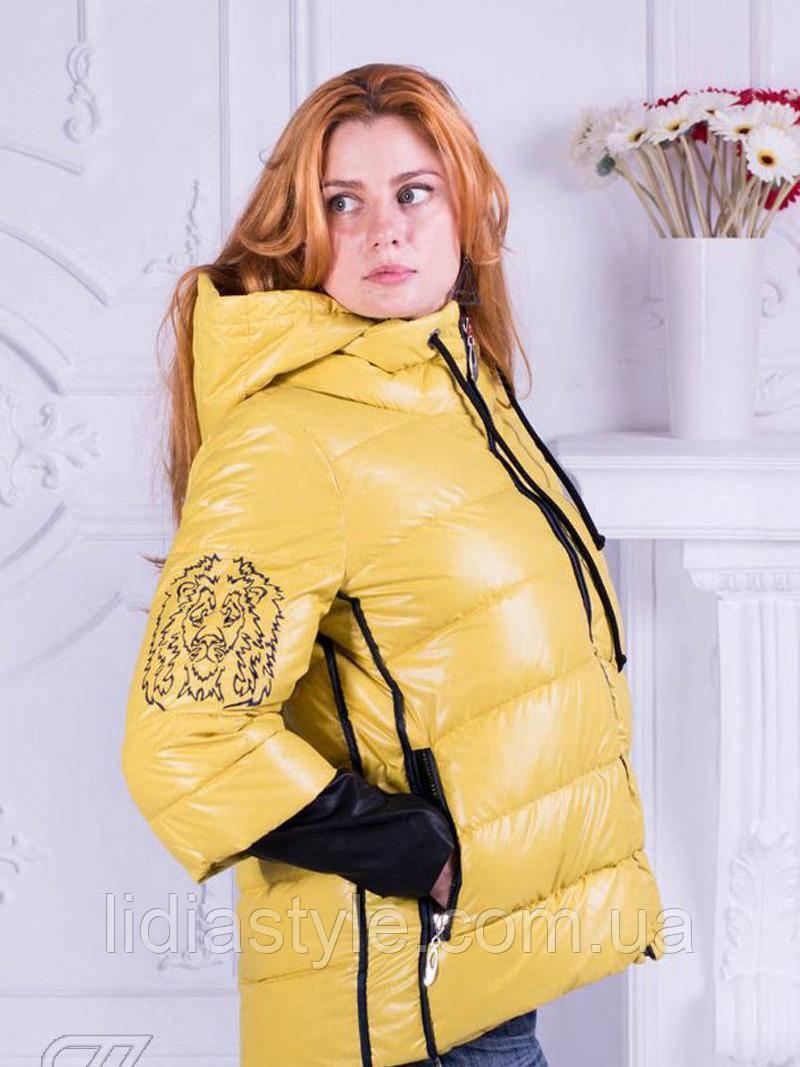 Куртка желтая 67-Ж