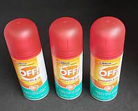 Аерозоль від Комарів Off Smooth & Dry з Ефектом Сухого Аерозолю 100 мл, фото 1
