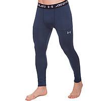 Термобелье мужское нижние длинные штаны (кальсоны) Under Armour  CO-8224-BL M