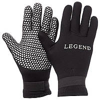 Перчатки для дайвинга LEGEND (СКИДКА НА р. M) PL-6104 OF
