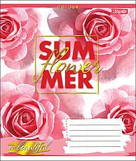 А5/48 кл. 1В SUMMER FLOWER, тетрадь для записей                                           , фото 2
