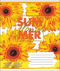 А5/48 кл. 1В SUMMER FLOWER, тетрадь для записей                                           , фото 3