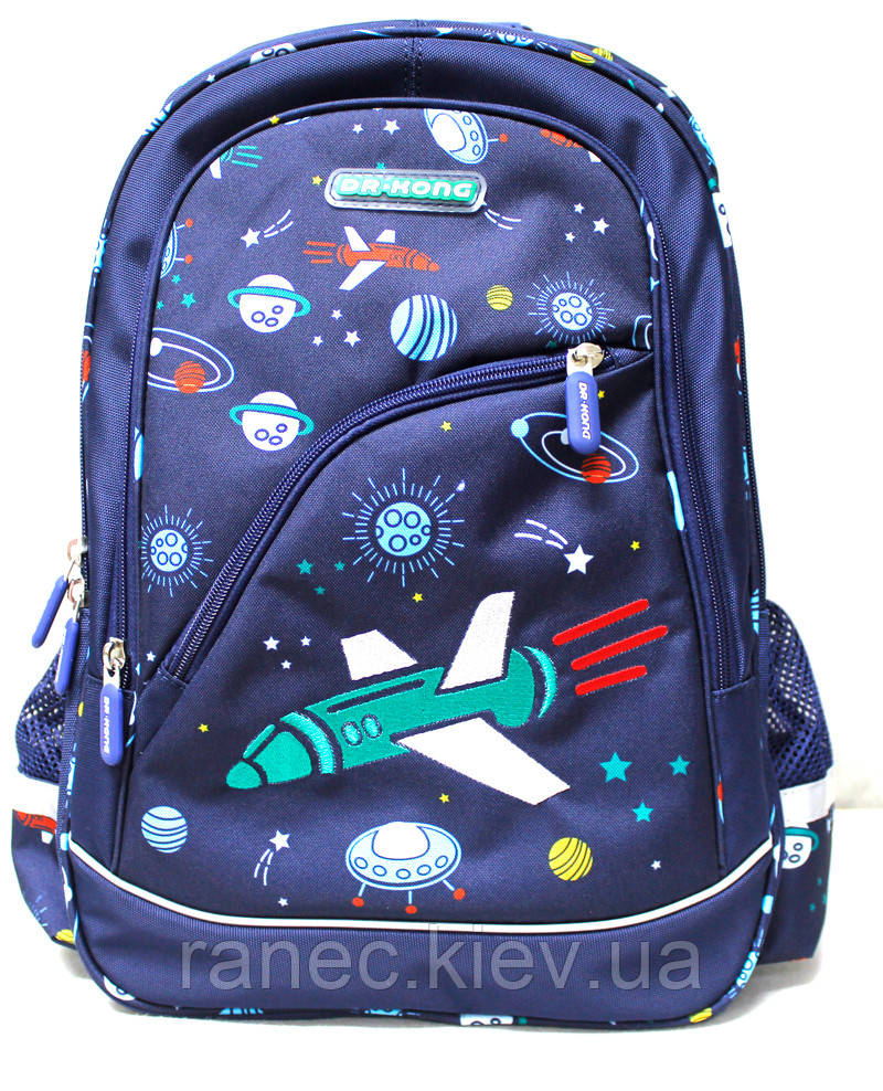 Рюкзак ортопедичний Z1200059 темно-синій M Dr.Kong 970417