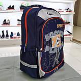 Рюкзак ортопедичний Z1200118 темно-синій M Dr.Kong 970580, фото 3