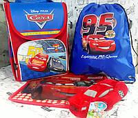 """Набор для мальчика """" Тачки2 """" рюкзак 988550  ,мягкий пенал , сумка для обуви  + Подарок ( папка А4), фото 1"""