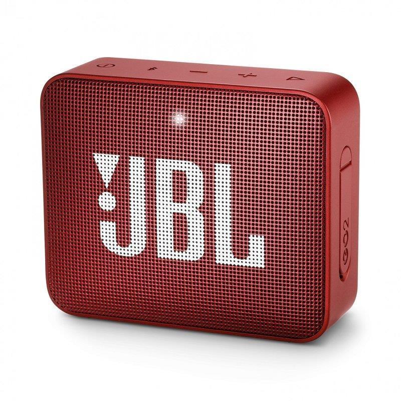 Акустична система JBL GO 2 Ruby Red (JBLGO2RED)