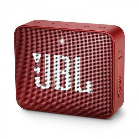 Акустична система JBL GO 2 Ruby Red (JBLGO2RED), фото 2