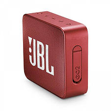Акустична система JBL GO 2 Ruby Red (JBLGO2RED), фото 3