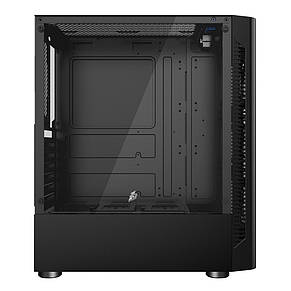 Корпус 1stPlayer D4-BK-R1 Color LED Black без БП, фото 2