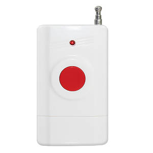 Беспроводная тревожная кнопка SOS для GSM домашней сигнализации JYX OS166 (sp4228)