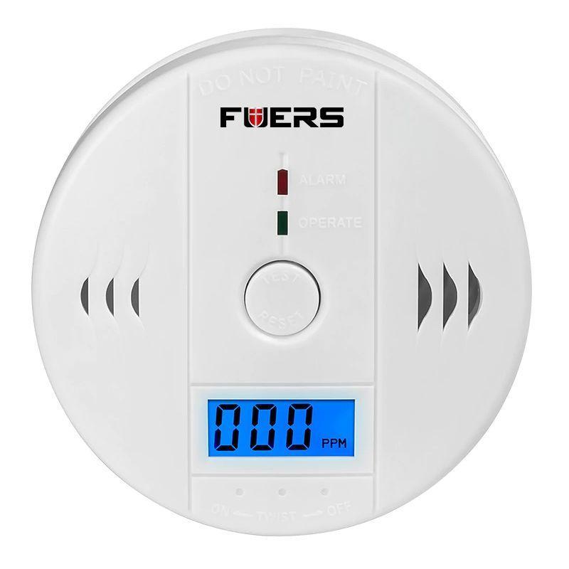 Датчик угарного газа бытовой Fuers JKD6021 сигнализатор (02228)