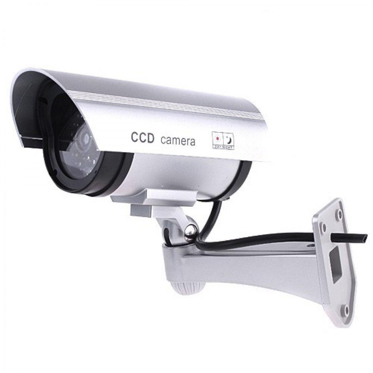 Камера видеонаблюдения муляж Dummy A26 + наклейка (44338)