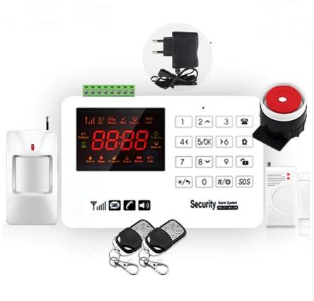Комплект сигнализации GSM Alarm System  GSM40A plus Белый (UUGJRNN885SVVVD)
