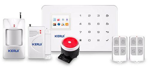 Комплект сигнализации GSM KERUI G-18 modern plus PD Белый (HHFBVCDS519DUGTC)
