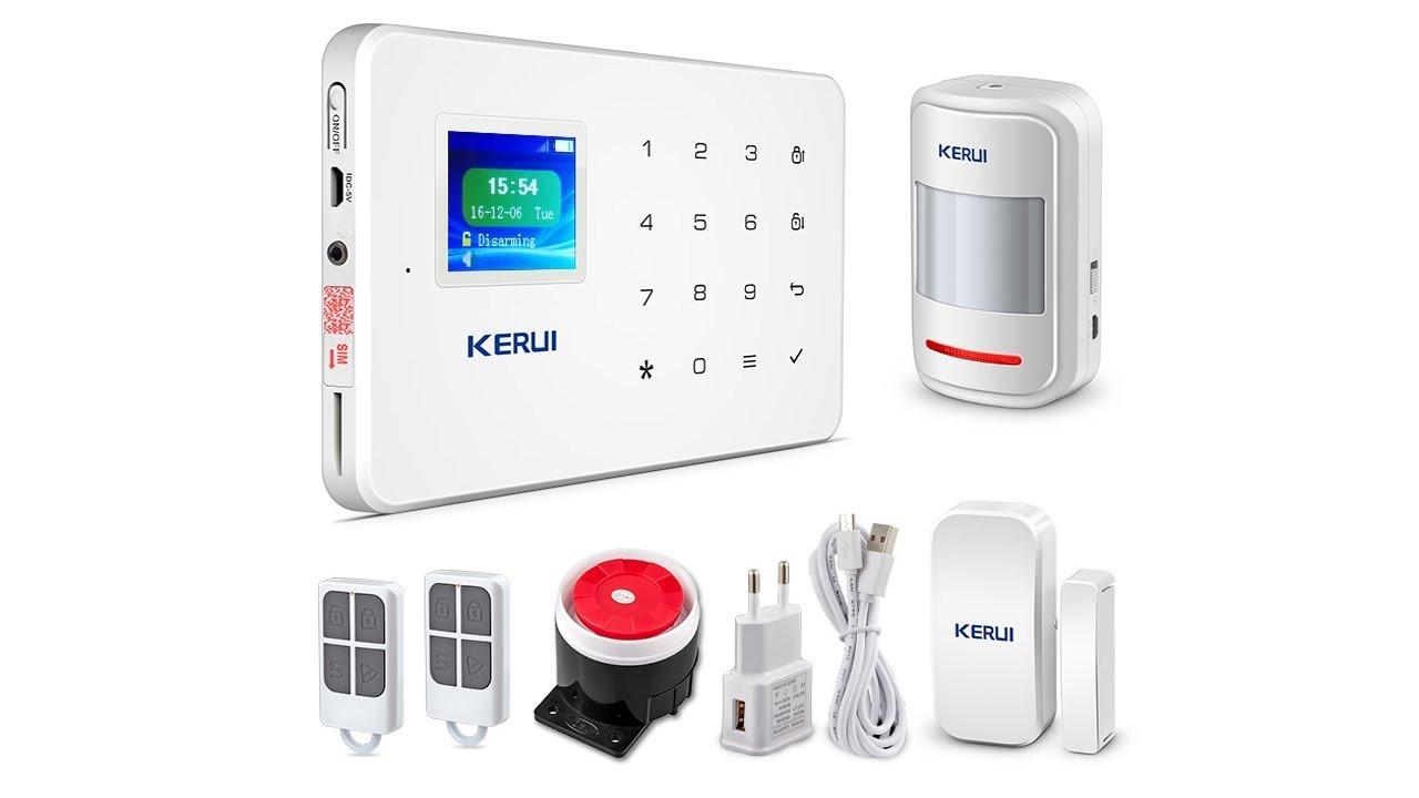 Комплект сигналізації Kerui Alarm оригінал (REka090)