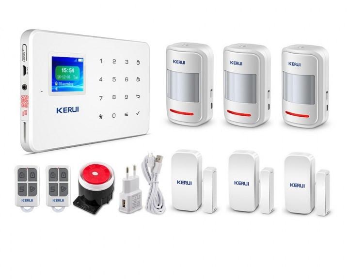 Комплект GSM сигнализации Kerui G18 k3 (UUFJDL75SB)