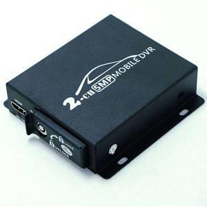 Мобильный AHD видеорегистратор на 2 камеры Pomiacam HD DVR  Черный (100399)