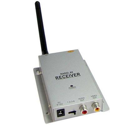 Беспроводной приёмник для аналоговых беспроводных камер видеонаблюдения на 2.4 Ггц Hamy GR-01 Белый (100458)