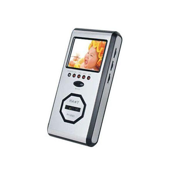 Беспроводной приёмник для аналоговых беспроводных камер видеонаблюдения на 2.4 Ггц Hamy 2503 Серый (100460)