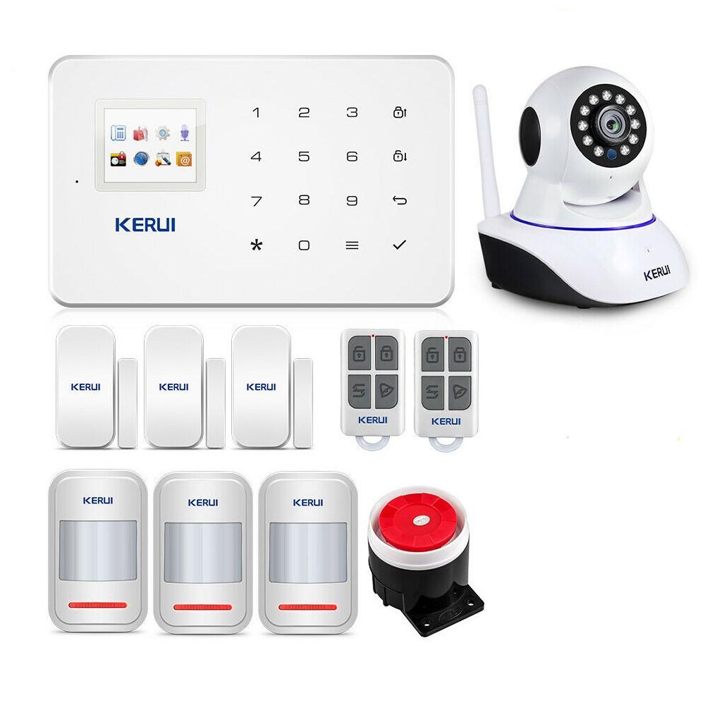 Сигналізації GSM KERUI G-18 для 3-кімнатної квартири profi star (DJFDHHDF67FDJF)