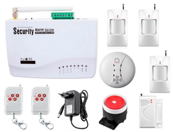 Комплект GSM сигналізації Kerui alarm G10 (HFJF78FGKKFK)