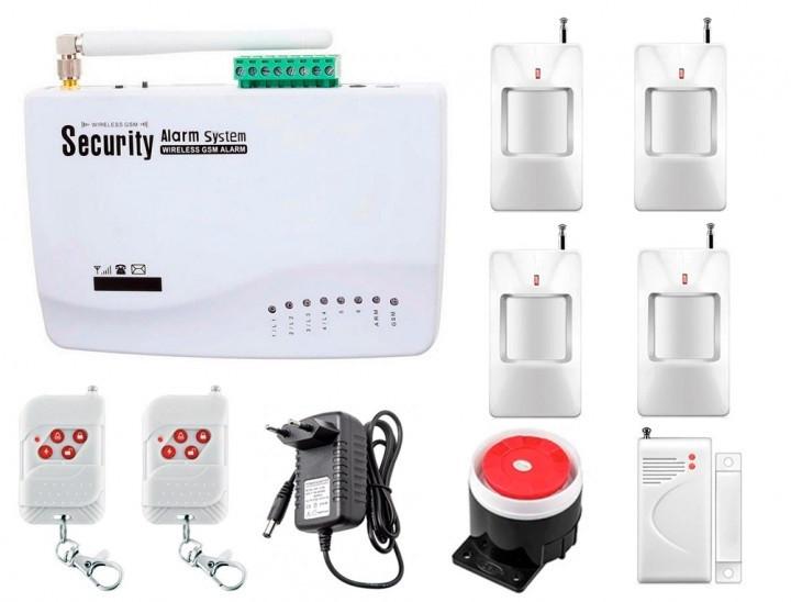 Беспроводной GSM сигнализации G10