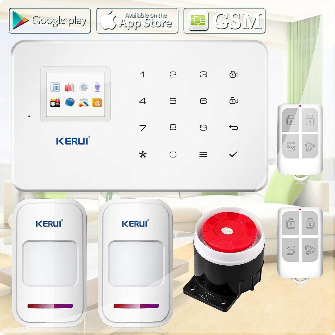 Комплект беспроводной GSM сигнализации Kerui G18 prof