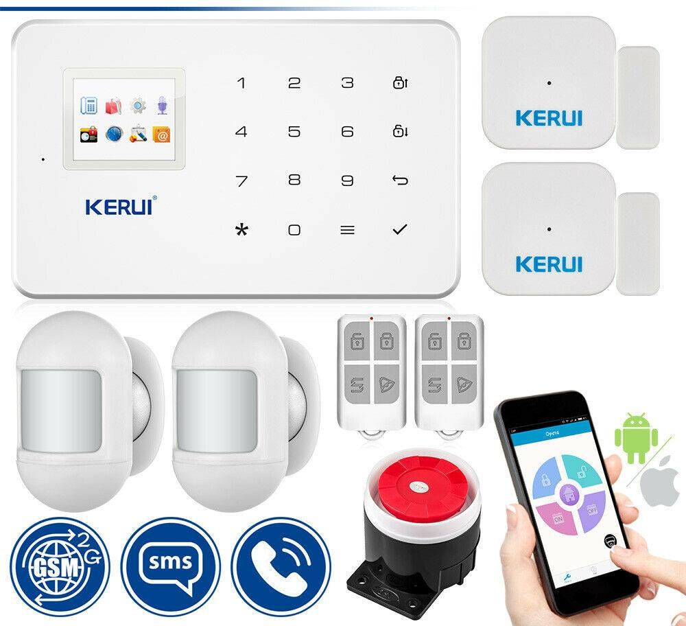 Комплект бездротової GSM сигналізації Kerui G18 elite (FJDJYDYR6S7F9DK)