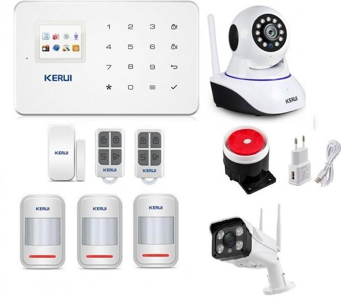 Сигнализация Wi-Fi KERUI W18 (HHFDK89FDDF)