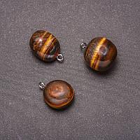 Кулон из камня Тигровый Глаз 18х26(+-)мм