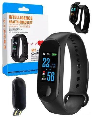 Фитнес-браслет intelligence health bracelet M3 (204)