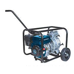 Мотопомпа 7.5л.с. Hmax 26м Qmax 60м/ч (4-х тактный) для грязной воды Wetron (772557)