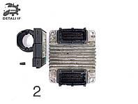 Блок управління двигуном (ЕБУ Astra G 1.7 Y17DT №2 28130433, 8972406221