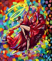 Картина по номерам Яркий танец, 40х50 (KPNE-01-05)