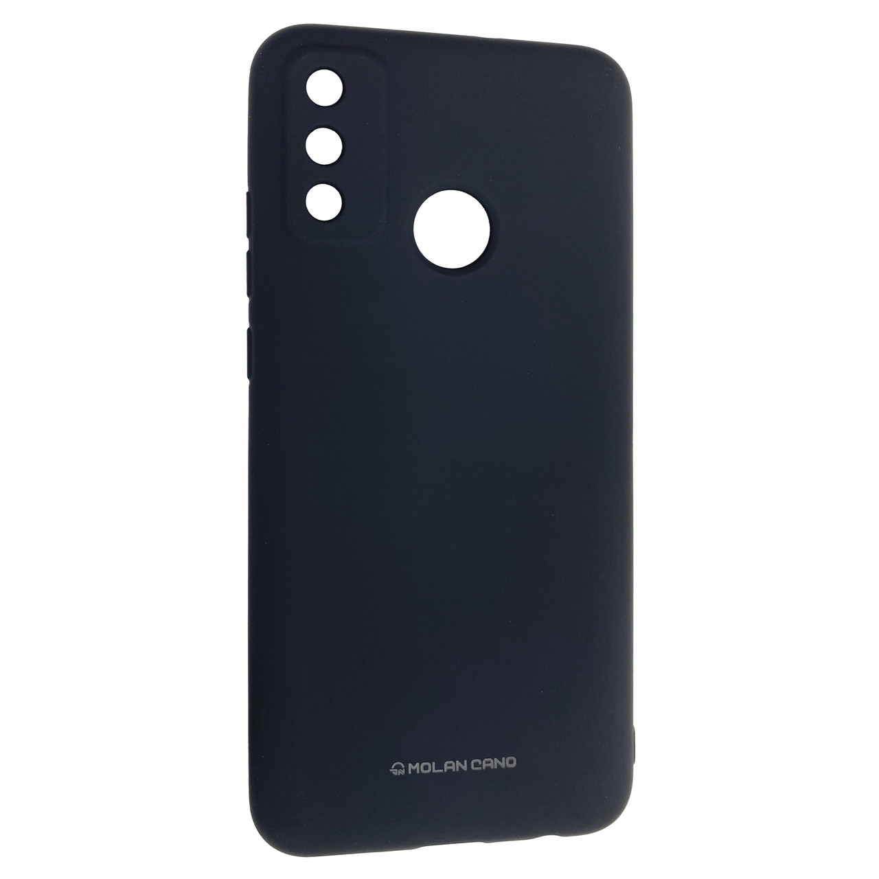 Чехол-накладка Silicone Hana Molan Cano для Huawei P Smart (2020) (black)