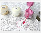 Картина по номерам Парусник на волнах, 40х40 (KPNE-02-07), фото 4