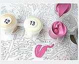 Картина по номерам Парусник на волнах, 40х40 (KPNE-02-07), фото 5