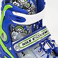 Роликовые коньки Nils Extreme NJ1812A blue, фото 8