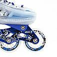 Роликовые коньки Nils Extreme NJ1812A blue, фото 9