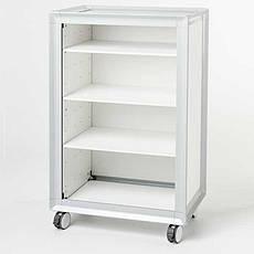 Тележка для салонов Bentlon Cabinet Silver XS White