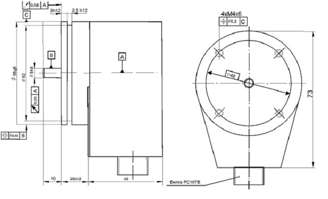 BE178AS5 (1000,1024 имп., 5В) энкодер круговых перемещений