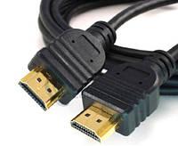 HDMI Кабель 5м, плоский V1.4, позолоченный