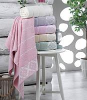 Набор махровых полотенец Сауна 100*150 Julia Damask Турция 6 шт
