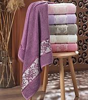 Набор махровых полотенец Сауна 100*150 Julia Zarif Турция 6 шт